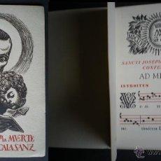 Catálogos de Música: L113- CANTORAL LITÚRGICO III CENTENARIO DE LA MUERTE DE SAN JOSÉ DE CALASANZ- EDIT AMPI - 1948. Lote 44658051