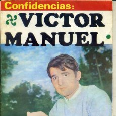 Catálogos de Música: CONFIDENCIAS VÍCTOR MANUEL. Lote 44787332