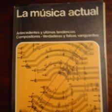 Catálogos de Música: LA MUSICA ACTUAL - ENCICLOPEDIA DEL MUNDO. Lote 44814292