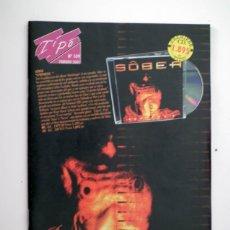 Catálogos de Música: CATALOGO TIPO - Nº 109 - FEBRERO 2001 SOBER. Lote 44818572