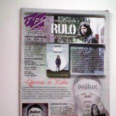 Catálogos de Música: CATALOGO TIPO - Nº 249 - OCTUBRE 2012 RULO - BOIKOT. Lote 44818638