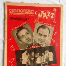 Catálogos de Música: REVISTA CANCIONERO JAZZ Nº 35 EXTRAORDINARIO EDITORIAL ALAS RAFAEL BOLUDA - SEPULVEDA.. Lote 45339465