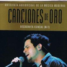 Catálogos de Música: M - SOLO LIBRO - ANTOLOGIA AUDIOVISUAL MUSICA MODERNA - M - Z - CANCIONES DE ORO - PLANETA 2005. Lote 45540886