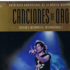 Catálogos de Música: M - SOLO LIBRO - ANTOLOGIA AUDIOVISUAL MUSICA MODERNA - CANCIONES DE ORO - PLANETA 2005. Lote 45540965
