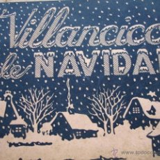 Catálogos de Música: VILLANCICOS DE NAVIDAD.MUSEO CATEQUISTICO DIOCESANO LOGROÑO.62 PG. Lote 45623829