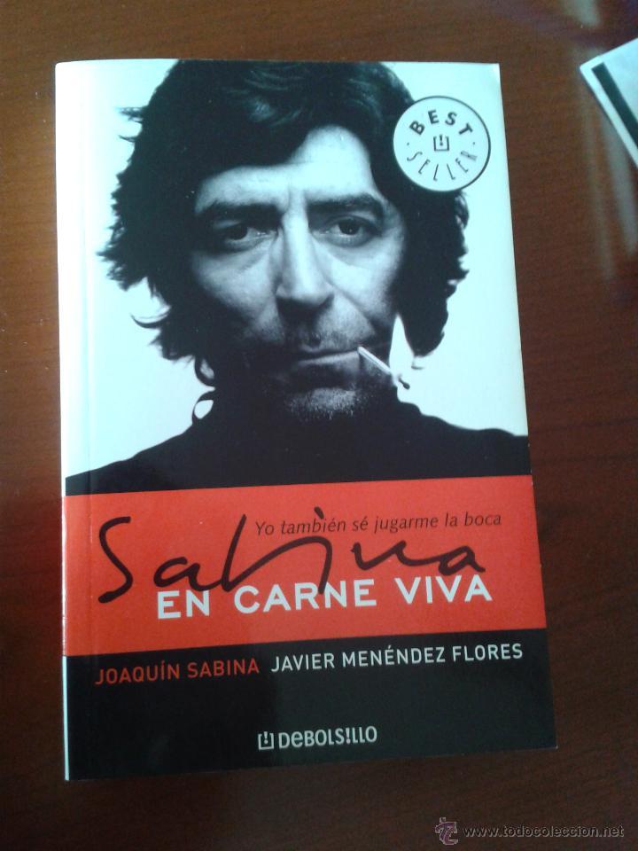 Libro Joaquin Sabina En Carne Viva Javier Menen Sold At Auction