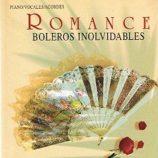 Catálogos de Música: ROMANCE : BOLEROS INOLVIDABLES. Lote 45768518