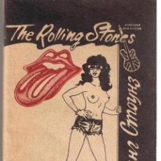 Catálogos de Música: CANCIONERO. THE ROLLING STONE 1971 - 1989. (EN INGLÉS / RUSO). BY MICK JAGGER & KEITH RICHARDS. Lote 45793355