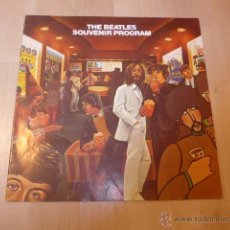 Catálogos de Música: ANTIGUO THE BEATLES SOUVENIR PROGRAM. LOS BEATLES.. Lote 46073447
