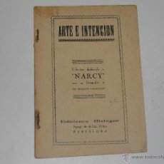 Catálogos de Música: CANCIONERO NARCY AÑO 1935. Lote 46113322