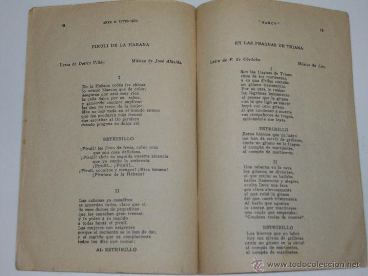 Catálogos de Música: CANCIONERO NARCY AÑO 1935 - Foto 2 - 46113322