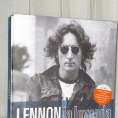 Catálogos de Música: LENNON: LA LEYENDA (INCLUYE CD). Lote 232912320