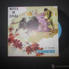 Catálogos de Música: CATALOGO DISCOS BELTER - MUSICA DE ESWPAÑA - VER FOTOS - (V-1514). Lote 46299130