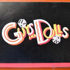 Catálogos de Música: GUYS AND DOLLS - LIBRO ORIGINAL DEL MUSICAL DE BROADWAY - 1992 - VER. Lote 46317617