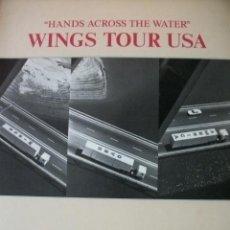 Catálogos de Música: BEATLES PAUL MCCARTNEY WINGS USA TOUR 1978 WINGS OVER AMERICA. Lote 46705723