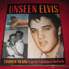 Catálogos de Música: LIBRO FOTOGRAFICO ELVIS UNSEEN CANDIDS OF THE KING-FOTOS DE JIM CURTIN-BULFINH PRESS 1992-VER FOTOS. Lote 46975358