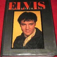 Catálogos de Música: LIBRO-ELVIS HIS LIFE FROM A TO Z-ENCICLOPEDIA EN INGLES-WORTH & TAMERIUS-CONTEMPORARY BOOKS 1988. Lote 47018361