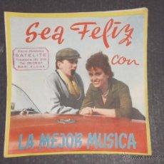 Catálogos de Música: CATALOGO DISCOS BELTER -(V-1714). Lote 47149863
