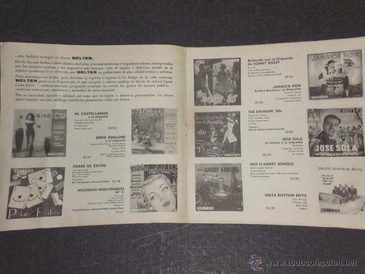 Catálogos de Música: CATALOGO DISCOS BELTER -(V-1714) - Foto 2 - 47149863