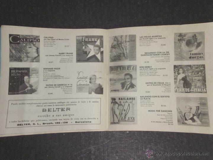 Catálogos de Música: CATALOGO DISCOS BELTER -(V-1714) - Foto 6 - 47149863