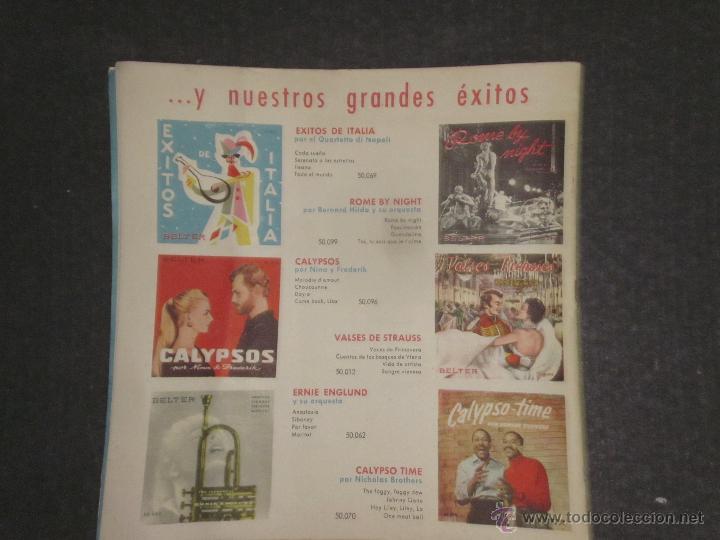 Catálogos de Música: CATALOGO DISCOS BELTER -(V-1714) - Foto 7 - 47149863