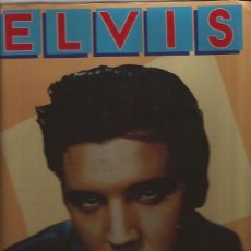 Catálogos de Música: LIBRO-ELVIS-K D KIRKLAND SANDY MARTINDALE-BISON BOOKS 1988-FOTOS. Lote 47191034