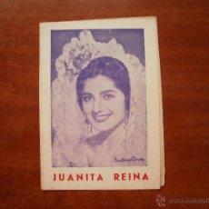 Catálogos de Música: CANCIONERO LIBRITO ESPAÑOL CANCIONES DE JUANITA REINA SOLERA DE ESPAÑA Nº 5. Lote 47329505