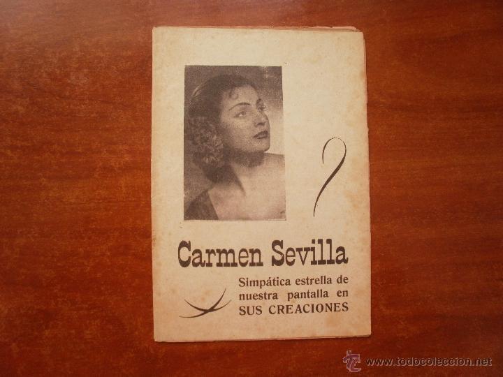 CANCIONERO LIBRITO ESPAÑOL CANCIONES DE CARMEN SEVILLA (Música - Catálogos de Música, Libros y Cancioneros)