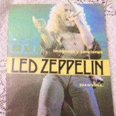Catálogos de Música: IMAGENES Y CANCIONES - LED ZEPPELIN - DISTAL - ARGENTINA - 1994 - RARO Y ESCASO. Lote 47512583
