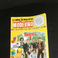 Catalogues de Musique: FORMULA V CANCIONERO MODERNO ORIGINAL EPOCA COMPLETO NUEVO GRUPOS CONJUNTOS RARO. Lote 47618446