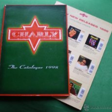 Catálogos de Música: DISCOS CHARLY 1998 1 LIBRO 124 PAGS CATALOGO CON REFªS Y CARATULAS A TODO COLOR. PDELUXE. Lote 47742287