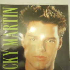 Catálogos de Música: RICKY MARTIN, POR ANNE M. RASO - USA - 1999 - ILUSTRADO - BIOGRAFIA Y DISCOGRAFIA. Lote 47749605