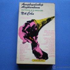 Catálogos de Música: UNA HISTORIA DE LA MUSICA POP NOSTROMO LIBRO 1973 PDELUXE. Lote 49653081