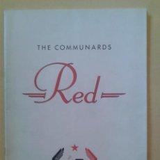 Catálogos de Música: LIBRO-REVISTA - THE COMMUNARDS - GIRA PROMOCIONAL ALBUM RED 1987. Lote 48426718