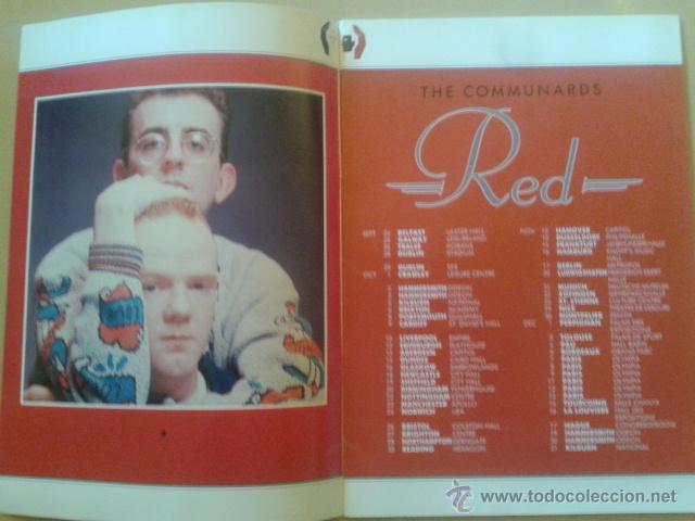 Catálogos de Música: LIBRO-REVISTA - THE COMMUNARDS - GIRA PROMOCIONAL ALBUM RED 1987 - Foto 2 - 48426718