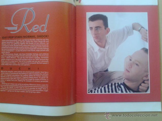 Catálogos de Música: LIBRO-REVISTA - THE COMMUNARDS - GIRA PROMOCIONAL ALBUM RED 1987 - Foto 3 - 48426718