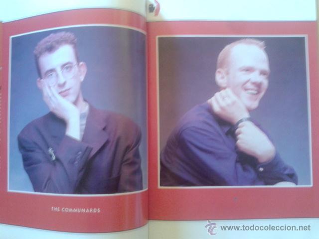 Catálogos de Música: LIBRO-REVISTA - THE COMMUNARDS - GIRA PROMOCIONAL ALBUM RED 1987 - Foto 4 - 48426718