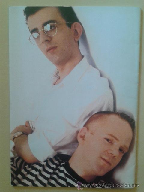 Catálogos de Música: LIBRO-REVISTA - THE COMMUNARDS - GIRA PROMOCIONAL ALBUM RED 1987 - Foto 6 - 48426718