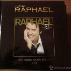 Catálogos de Música: TODO RAPHAEL 2008. LIBRO + CD. PLANETA DE AGOSTINI Nº 4.. Lote 48513821