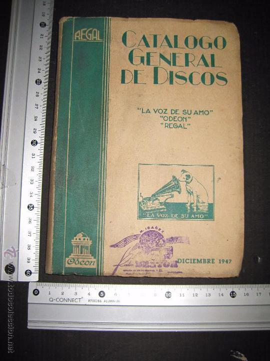 Catálogos de Música: CATALOGO GENERAL DE DISCOS LA VOZ DE SU AMO - ODEON- REGAL-AÑO 1947 - 240 PAGINAS - Foto 8 - 48559648