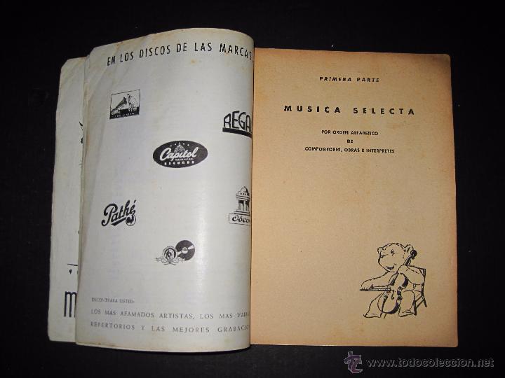 Catálogos de Música: CATALOGO GENERAL DE DISCOS MICROSURCO - 1956 - 214 PAGINAS - Foto 3 - 48559809