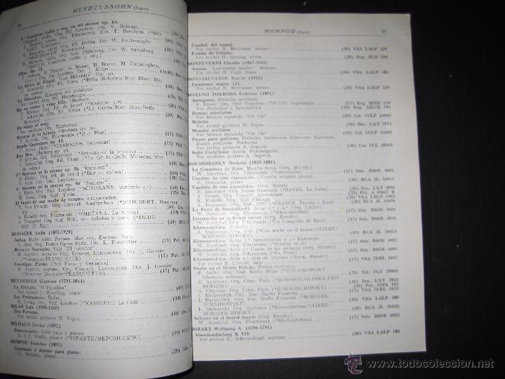 Catálogos de Música: CATALOGO GENERAL DE DISCOS MICROSURCO - 1956 - 214 PAGINAS - Foto 4 - 48559809
