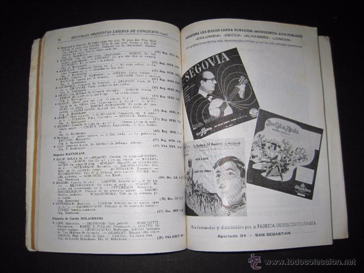 Catálogos de Música: CATALOGO GENERAL DE DISCOS MICROSURCO - 1956 - 214 PAGINAS - Foto 7 - 48559809