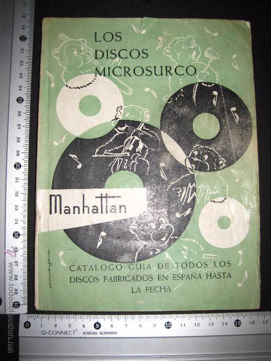 Catálogos de Música: CATALOGO GENERAL DE DISCOS MICROSURCO - 1956 - 214 PAGINAS - Foto 10 - 48559809