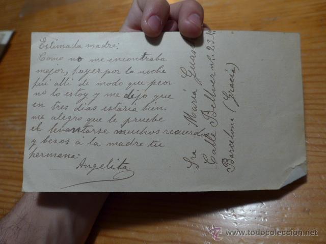 Catálogos de Música: Antiguo folleto de titta ruffo, escrito detras de Barcelona - Foto 3 - 48696545