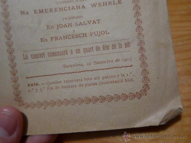 Catálogos de Música: Antiguo catalogo de musica de orfeo catala, lluis millet, 1903, barcelona - Foto 2 - 48697734