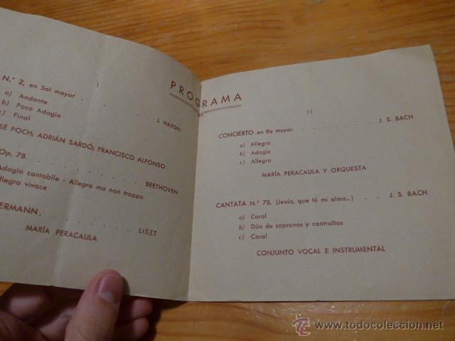 Catálogos de Música: Escuela municipal de musica de Barcelona, 1941 - Foto 2 - 48697811