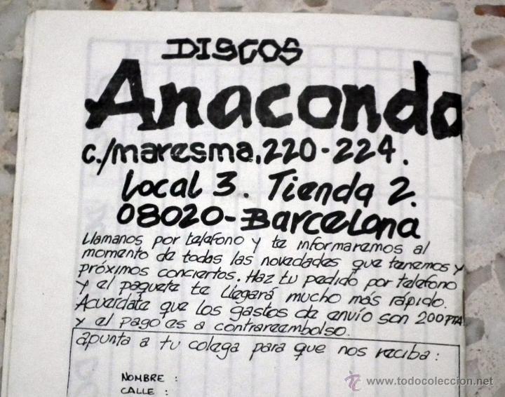 Catálogos de Música: CATALOGO ANACONDA - DISCOS Y VIDEOS ETC HEAVY METAL - Foto 3 - 48800115
