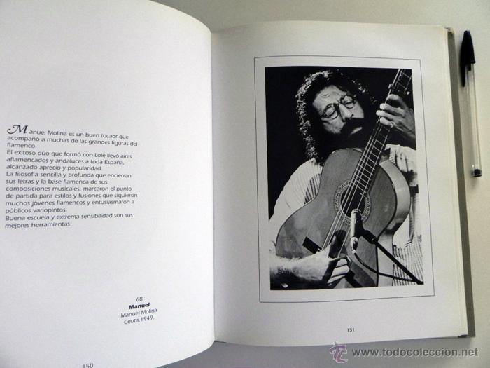 Catálogos de Música: MATICES FLAMENCOS - CARLOS ARBELOS - FOTOGRAFÍA ARTISTAS - FLAMENCO FOTOS ARTE CANTE MÚSICA - LIBRO - Foto 4 - 49138447