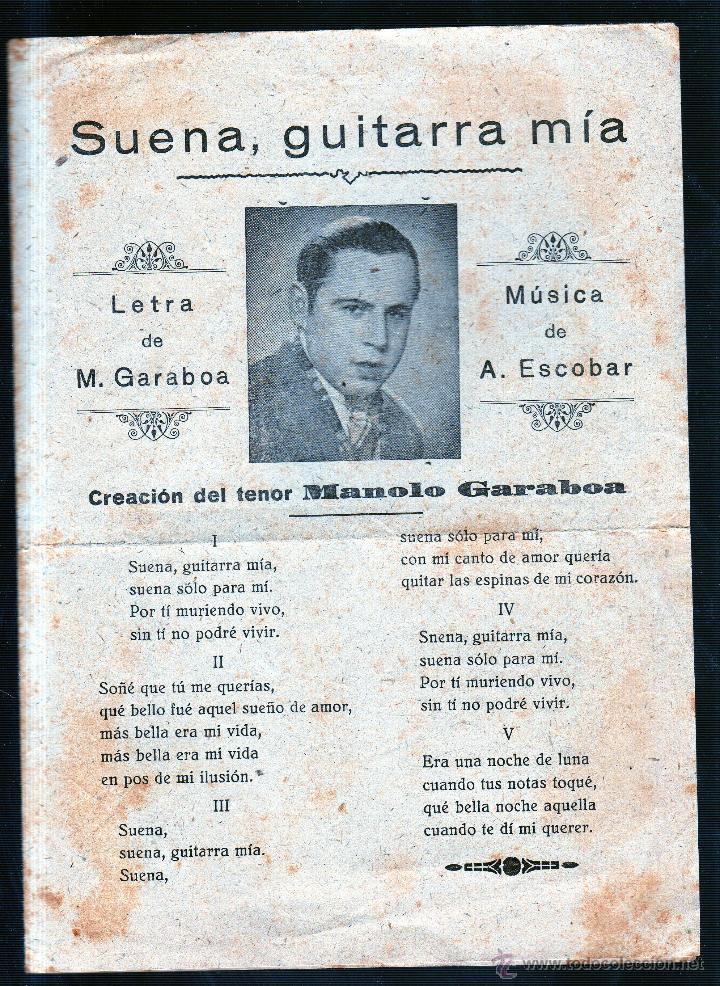 Catálogos de Música: AURORA. CAMINO DE MEJICO. LA PARRALA. SUENA, GUITARRA MIA. ME DA MIEDO DE LA LUNA. - Foto 3 - 49296743